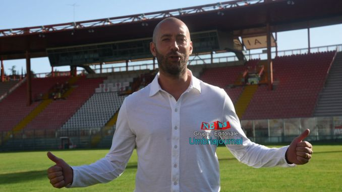 Cristian Bucchi ex allenatore del Perugia compie l'impresa