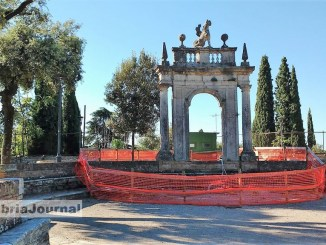 Giardini del Frontone di Perugia nel degrado, serve immediato restauro