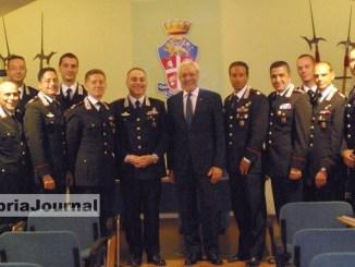 Carabinieri, prefetto Perugia Cannizzaro visita comando provinciale