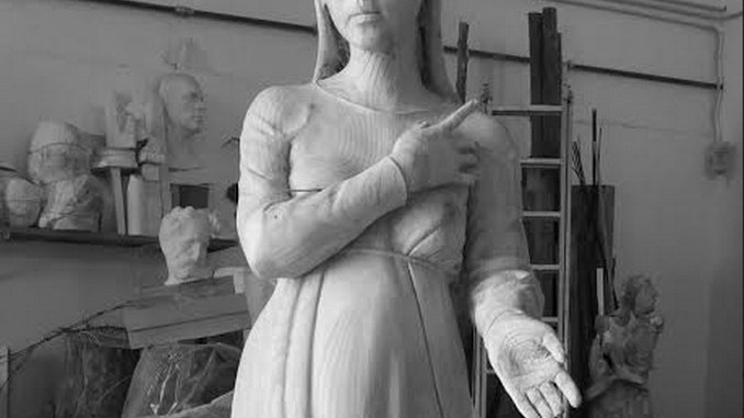 Opere scultore perugino Marco Mariucci a Bagno di Romagna