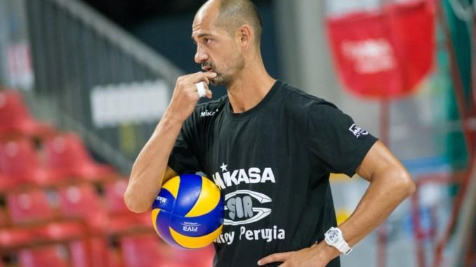 """Sir Volley Conad Perugia, la """"sesta"""" di Carmine Fontana"""
