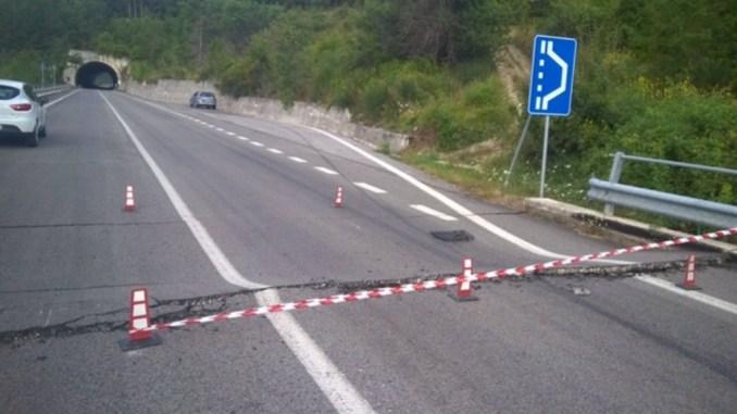 Finalmente si riparano le strade dopo terremoto, 408 interventi per 389 milioni di euro