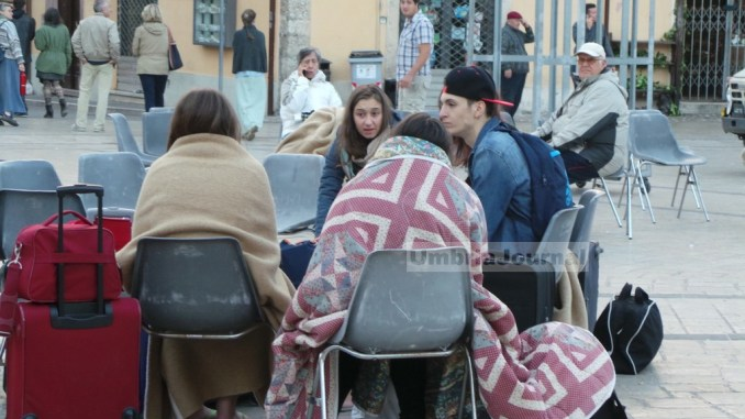 Assistenza persone e danni terremoto, sceso numero assistiti in Umbria