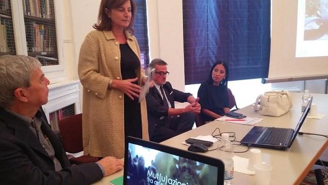 La conferenza stampa di presentazione di Mut(u)azioni, con la presidente del Consiglio regionale Donatella Porzi