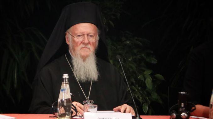 Costruire pace è questione scelta individuale e istituzionale, Bartolomeo I