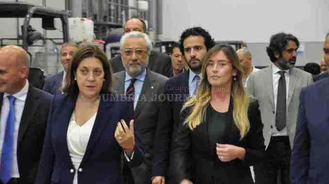 Inaugurazione Ncm, Presidente Marini, azienda che investe in innovazione e ricerca