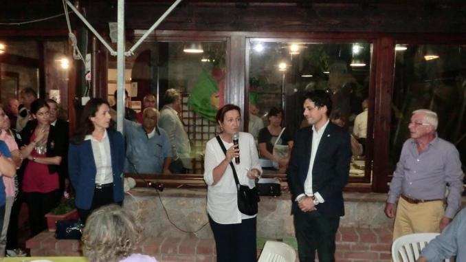 Da sinistra Adriana Galgano, Ada Girolamini, Andrea Romizi