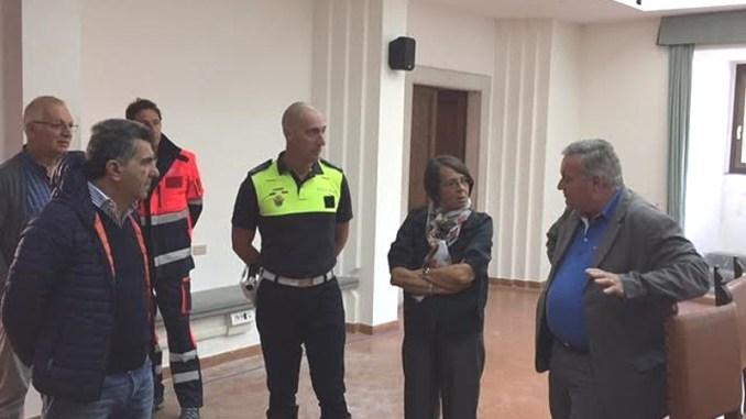 Vicepresidente Marina Sereni in visita in Valnerina nel post sisma