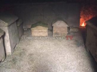 Luoghi Invisibili Perugia, la visita alla Tomba dello Sperandio