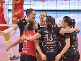 La Tuum Perugia vince in terra toscana e batte Firenze per tre a zero