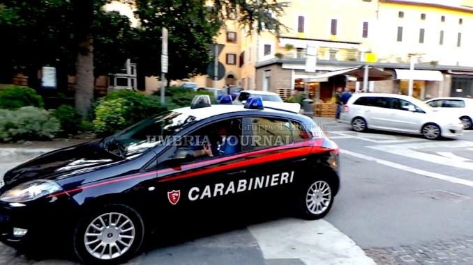 Bastia Umbra, evade dai domiciliari, arrestato carabinieri e portato in carcere