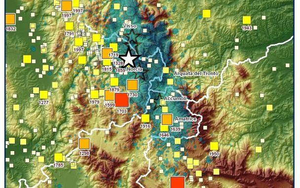 Sequenza sismica in Italia centrale: approfondimento e aggiornamento, 30 ottobre ore 16