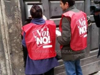Sinistra Italiana a Perugia, Porta a Porta, per spiegare le ragioni del NO