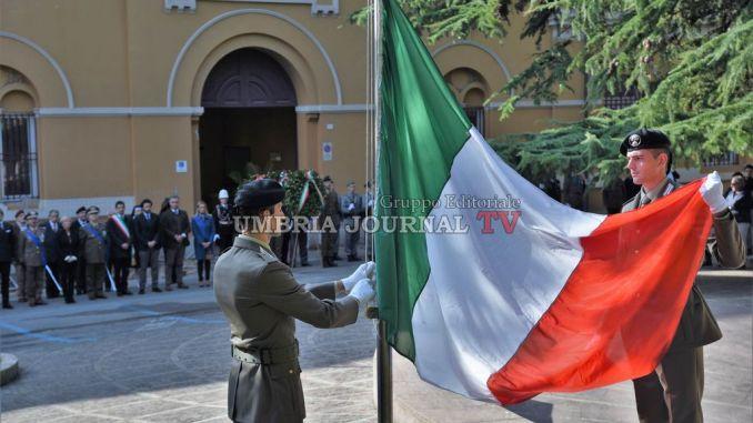 Defunti, Forze Armate e Festa Unità, la celebrazione a Perugia