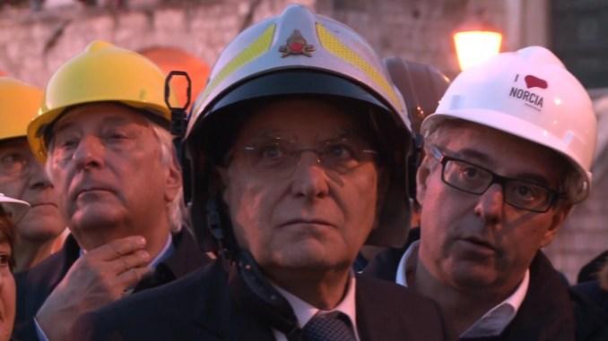 Terremoto, Sergio Mattarella sarà in Umbria, prima Preci, poi Norcia