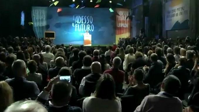 Leopolda Firenze, Leonelli, tanta solidarietà per l'Umbria
