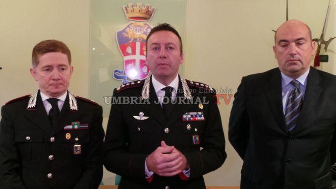 Carabinieri, nuovo comandante provinciale Perugia, ecco le sue linee guida FOTO E VIDEO