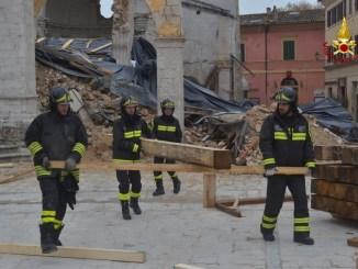 Terremoto, Basilica di Norcia, al via la messa in sicurezza VIDEO