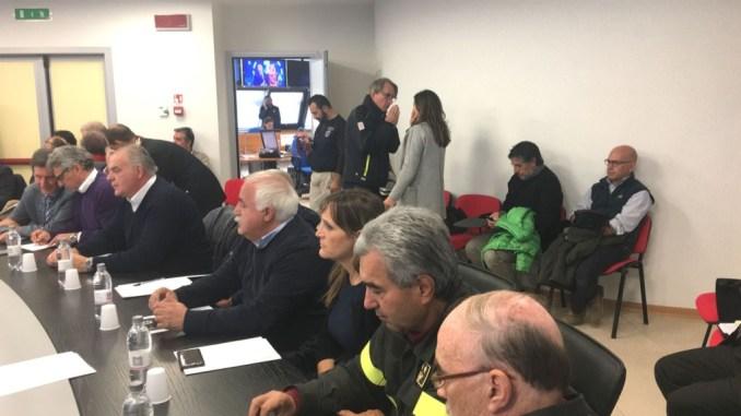 Sisma, Comitato istituzione decreto riunito a Foligno FOTO E VIDEO