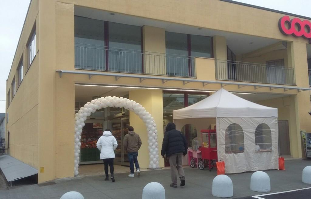 Coop Centro Italia riapre nuovo punto vendita a Norcia