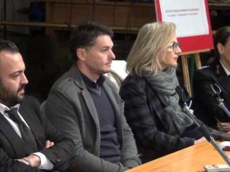 Da sinistra Emily Granieri, Giancarlo Fisichella, Cristiana Casaioli, Antonella Vitali