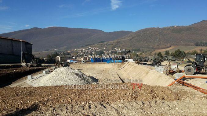Costruzione Casette Norcia, sospesi lavori per rinvenimento di sei tombe