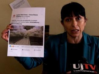 Terremoto, comune di Assisi diffida video della Croce Rossa Italiana
