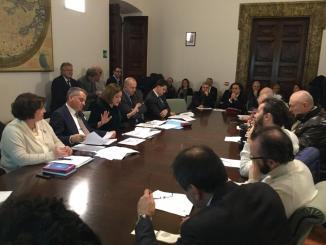 Regione, conferenza fine anno, Marini, terremoto è priorità per tutta Umbria