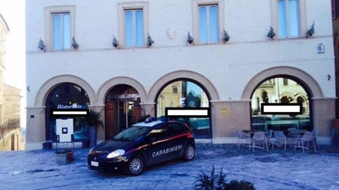 Tentato omicidio a Montefalco, panico al ristorante, Carabinieri arrestano 54enne albanese