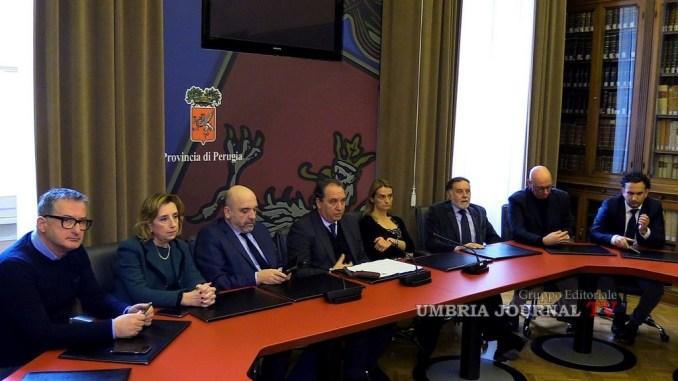 Consiglio provinciale di Perugia, presentata la nuova squadra di Mismetti