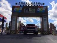 Il Ford Raptor con il numero 362