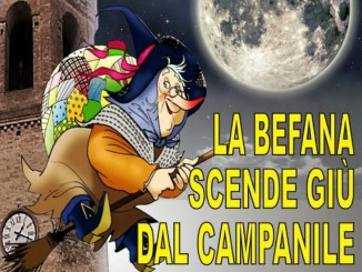 La Befana arriverà anche a San Nicolò di Celle di Perugia