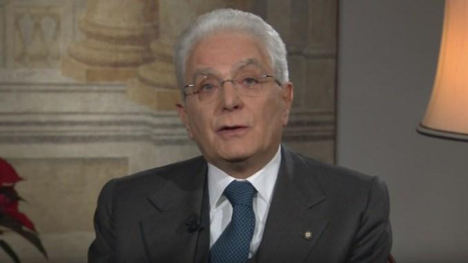 Presidente Mattarella, tegola di Norcia nel discorso di fine anno