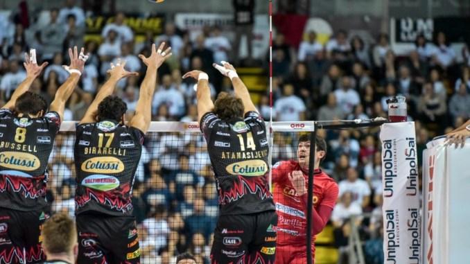 Volley, Sir Safety, Big Match al Palaevangelisti! Domenica Perugia-Trento