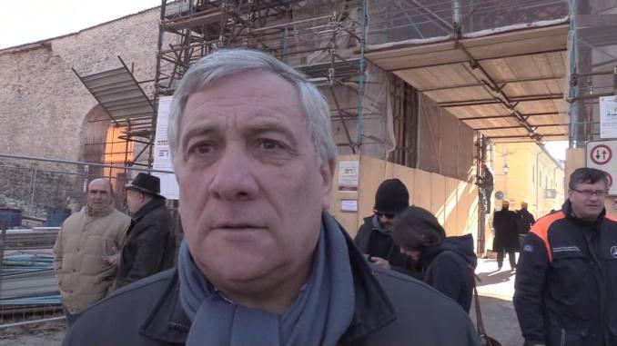 Antonio Tajani incontra gli imprenditori di Confindustria Umbria