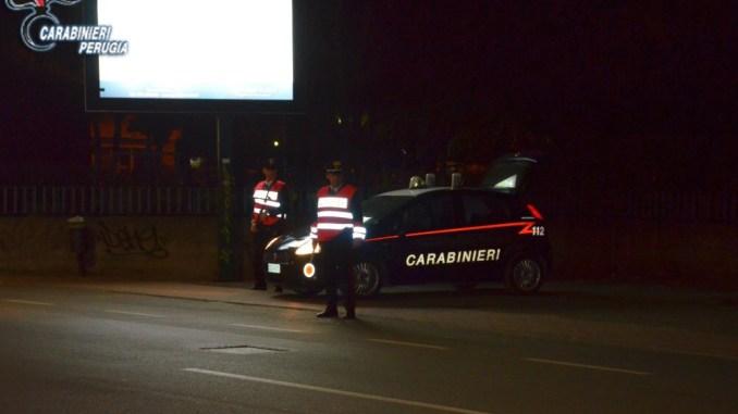 Carabinieri Perugia, 5 arresti durante i controlli nel capoluogo umbro