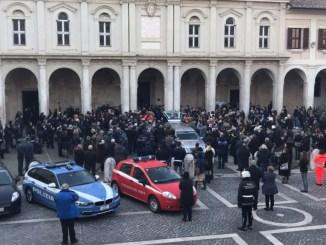 Al Duomo di Terni celebrati i funerali di Alessandro Riccetti