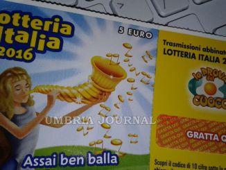 Lotteria Italia, venduti 166 mila biglietti, più a Perugia, meno a Terni