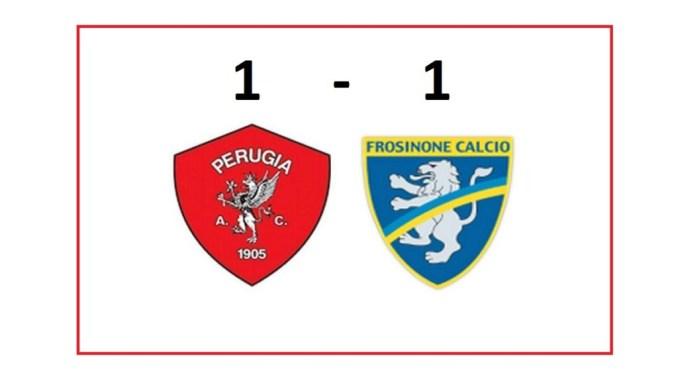 Al Curi la sfida contro il Frosinone è finita 1-1