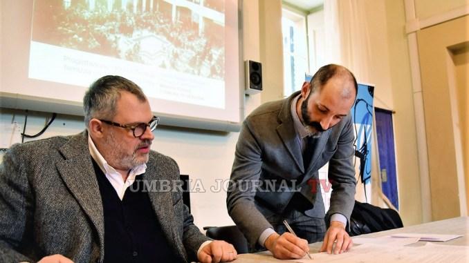 Perugia, firmato il protocollo d'intesa tra Comune e Istituto Italiano di Design