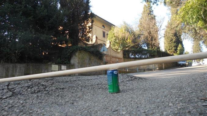 Ponte San Giovanni, a via Pieve di Campo una vera e propria gimkana