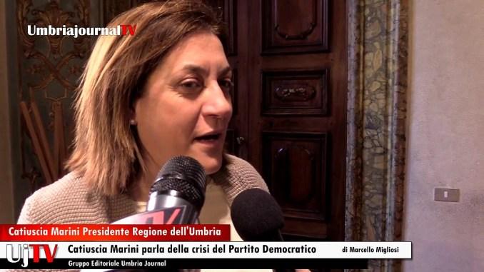 """Crisi Partito Democratico, Catiuscia Marini, una """"scissione di capi senza popolo"""""""