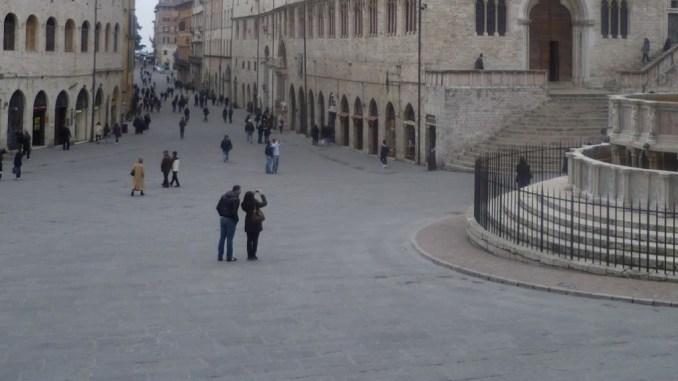 Grido d'allarme dei commerciati, il centro storico di Perugia vuoto