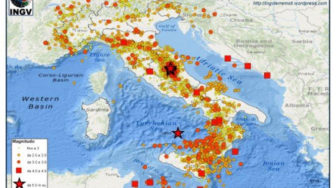 Terremoti, scossa magnitudo 5.1 in provincia Macerata, ma non è vero