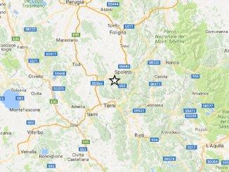 La terra non smette di tremare, terremoto di magnitudo 3.9 tra Spoleto e Terni