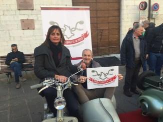 L'Umbria si rimette in moto, sabato pomeriggio ad Assisi un centinaio di motociclisti FOTO