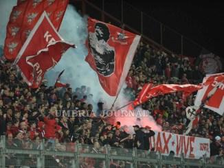 Calcio, Perugia si arrende a Palermo, decide un rigore 0-1