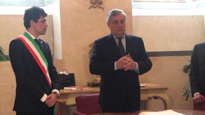 11 maggio, Antonio Tajani, Forza Italia, sarà in Umbria