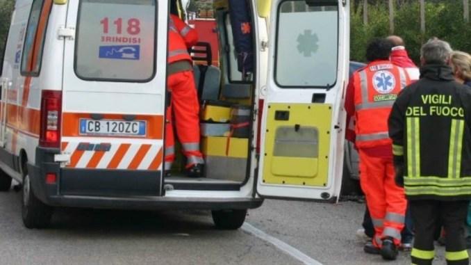 Incidente stradale a Spoleto, auto contro moto, muore motociclista