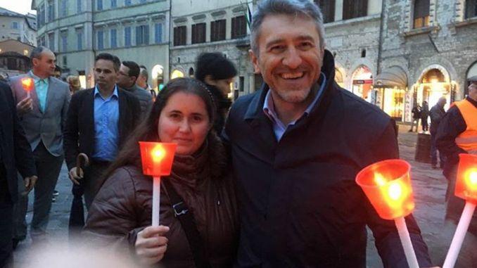 Lega Nord Umbria presente alla fiaccolata in difesa della famiglia naturale